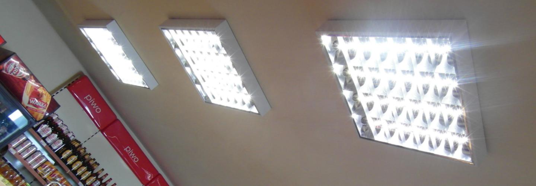 Oświetlenie wnętrz stacji